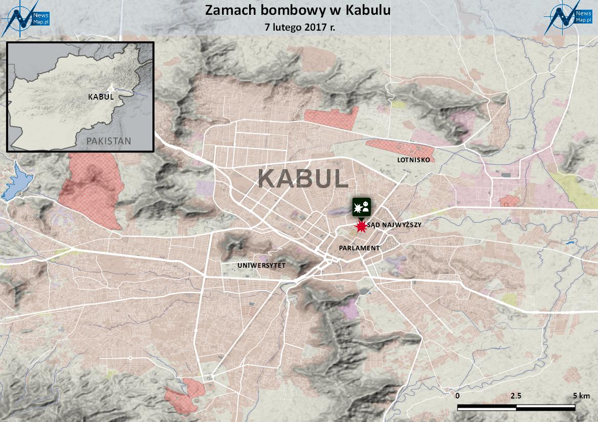Zamach w Kabulu 7 II 2017