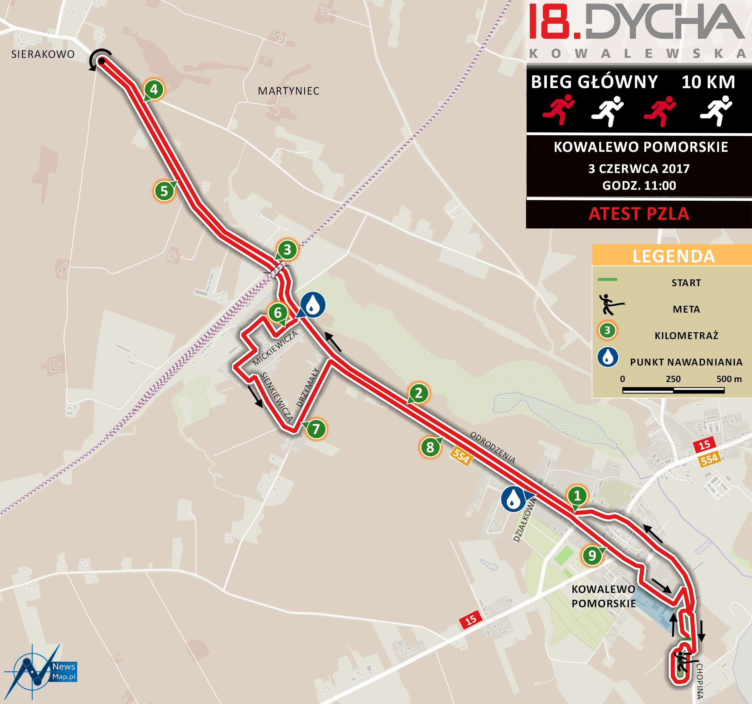 18. Dycha Kowalewska - mapa trasy2