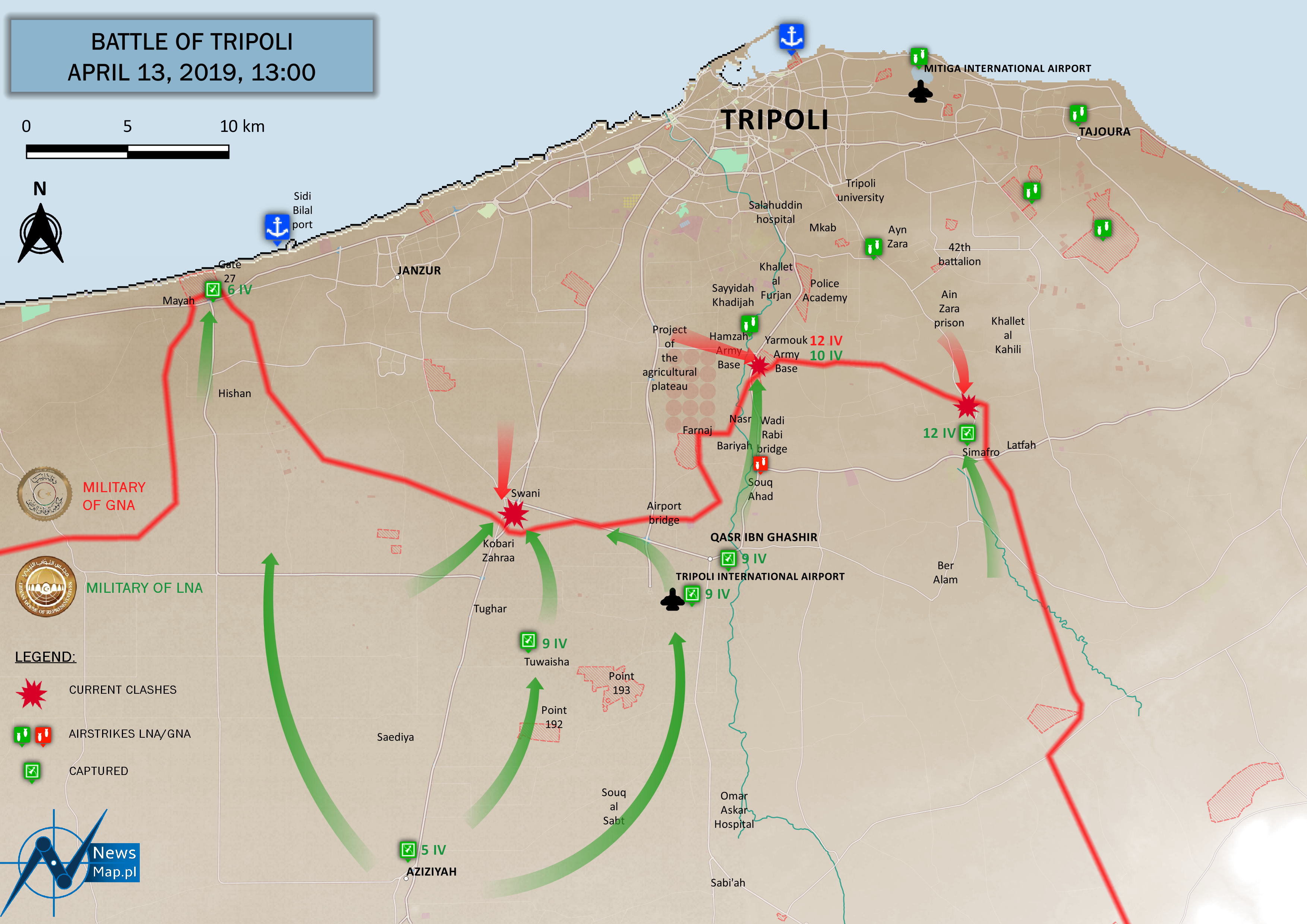 Battle of Tripoli - April 13, 2019