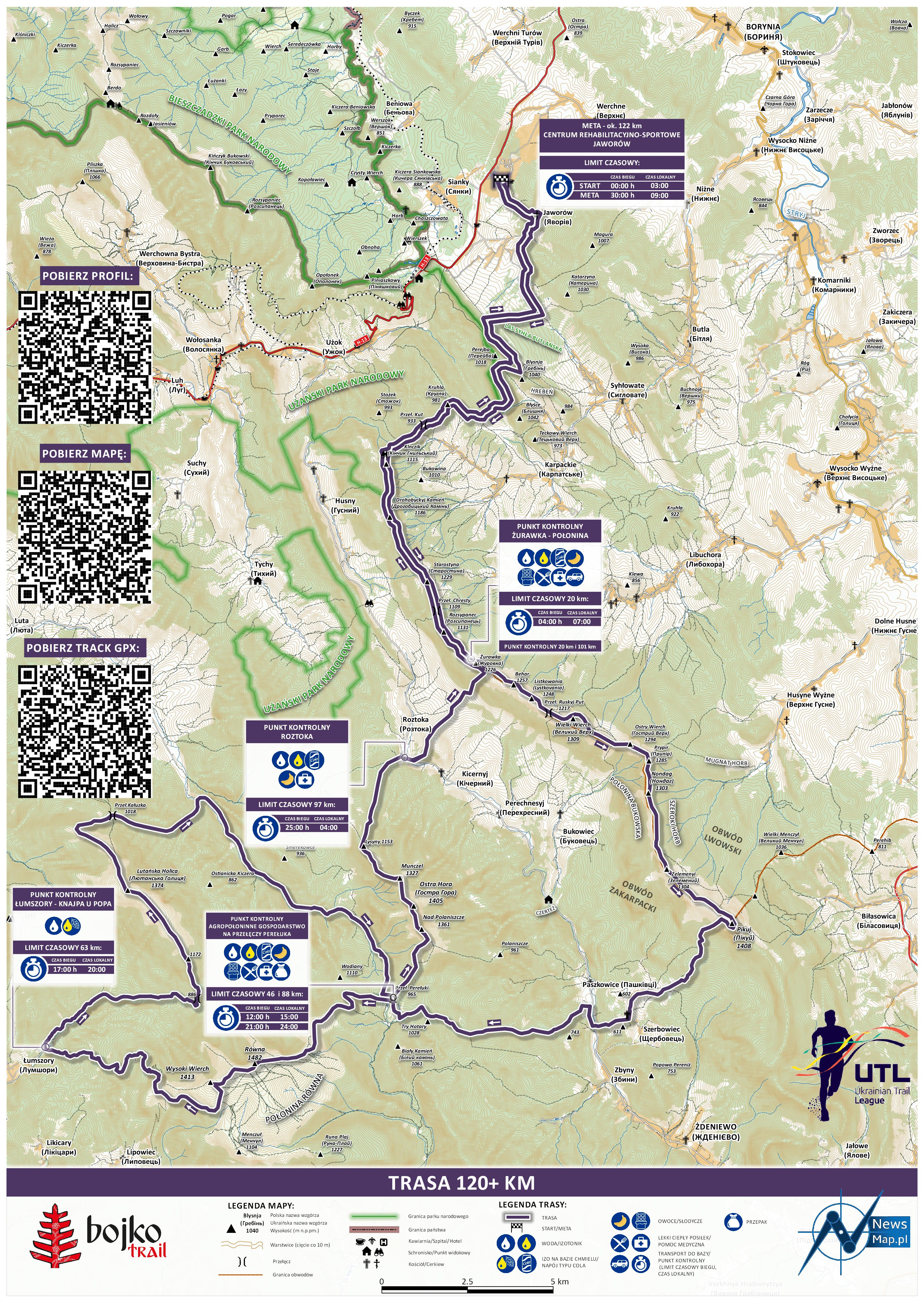 Bojko Trail +120