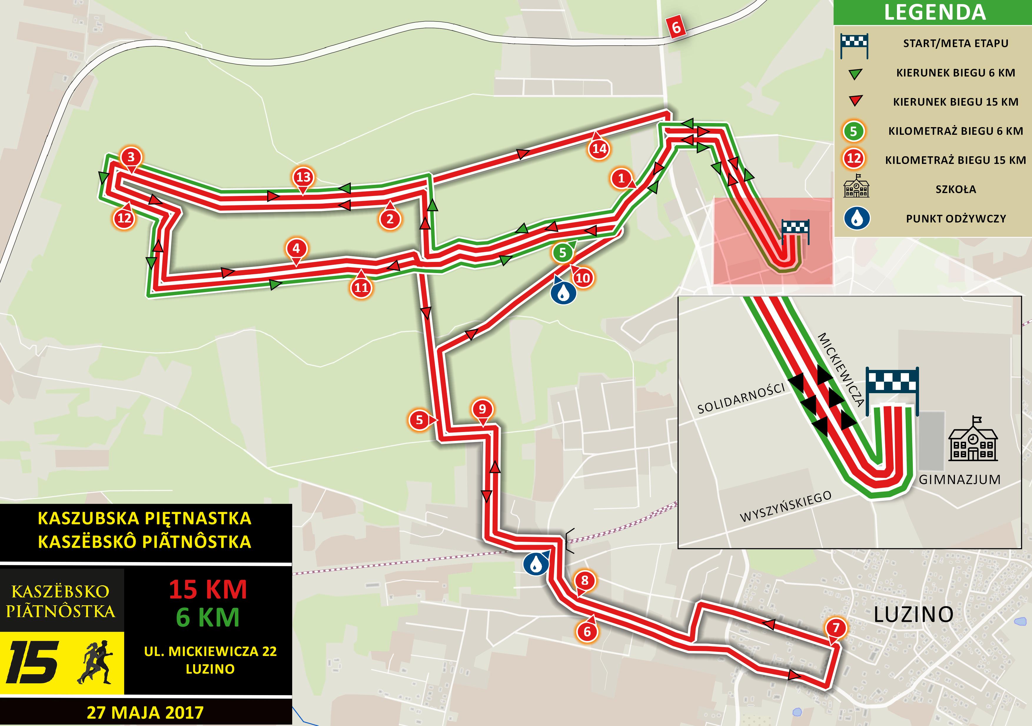 Kaszubska 15 - mapa NewsMap.pl (druk)