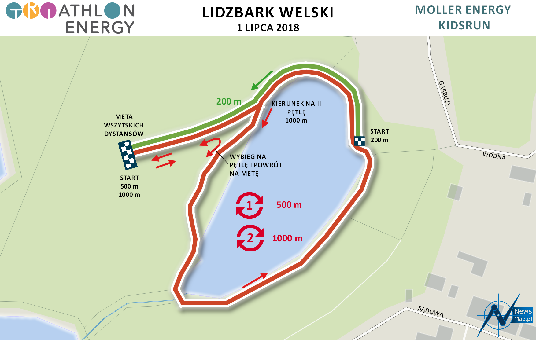 Lidzbark - KidsRun (on-line) 2018