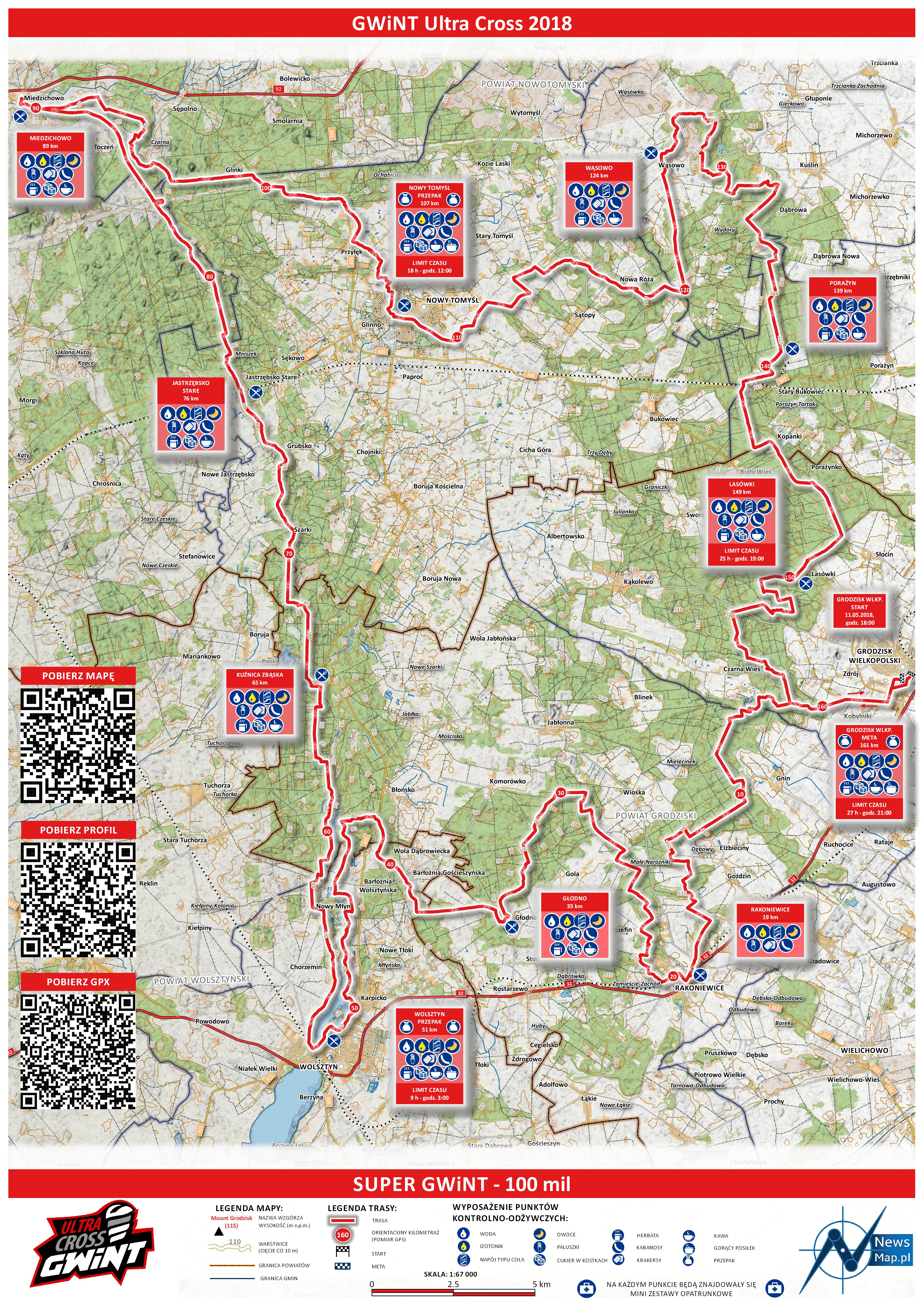 Mapa statyczna SUPER GWiNT 2018