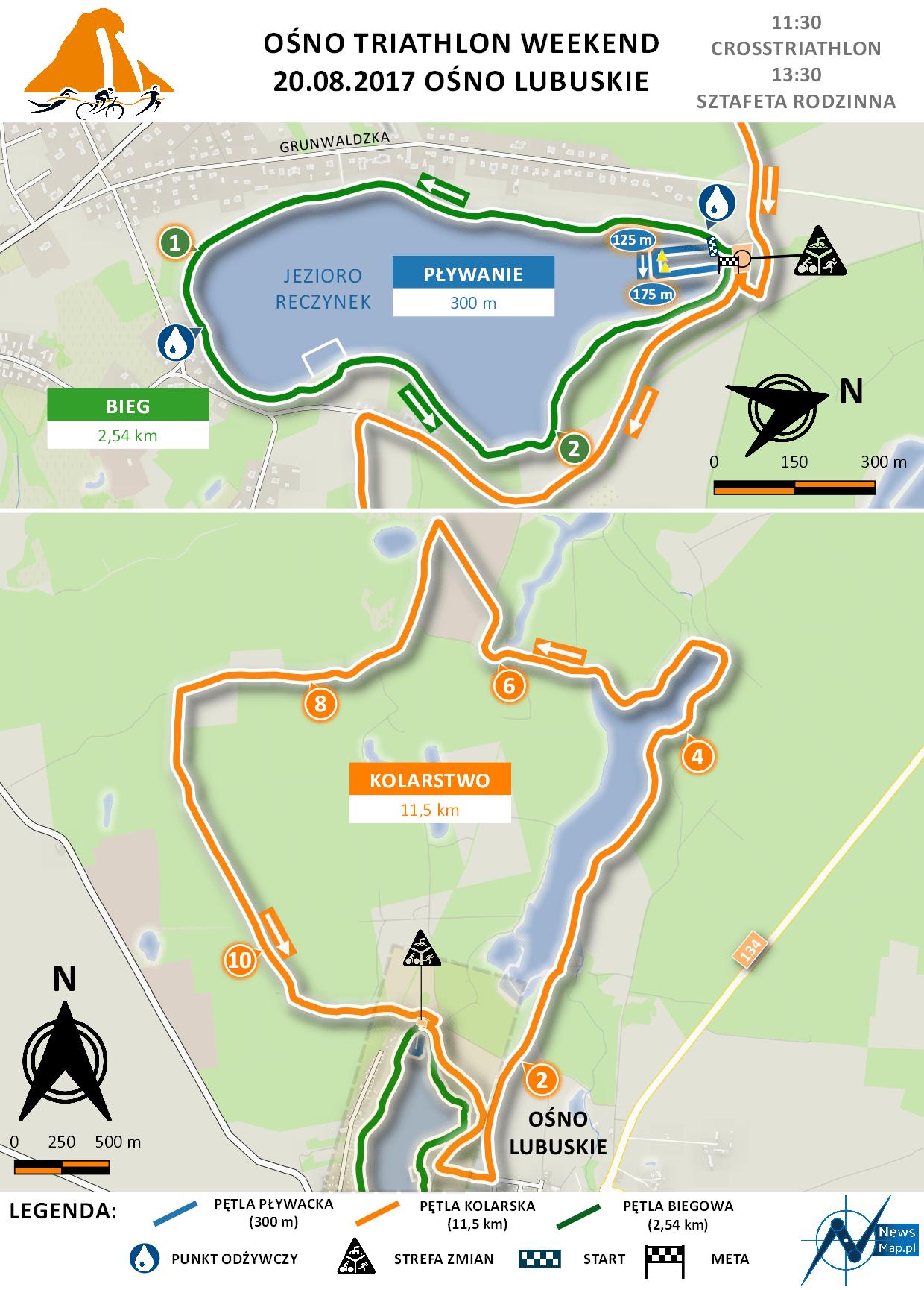 Ośno Weekend Triathlon (drugi dzień -150 dpi)