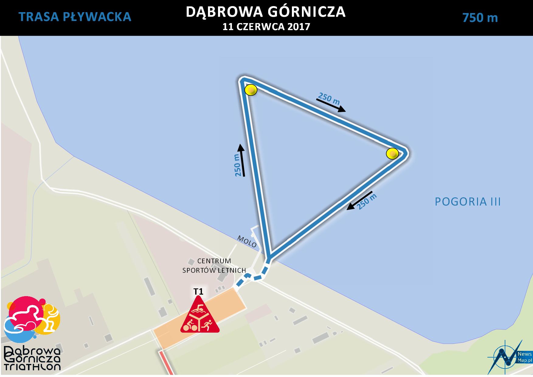Triathlon DG - pływanie (on-line)