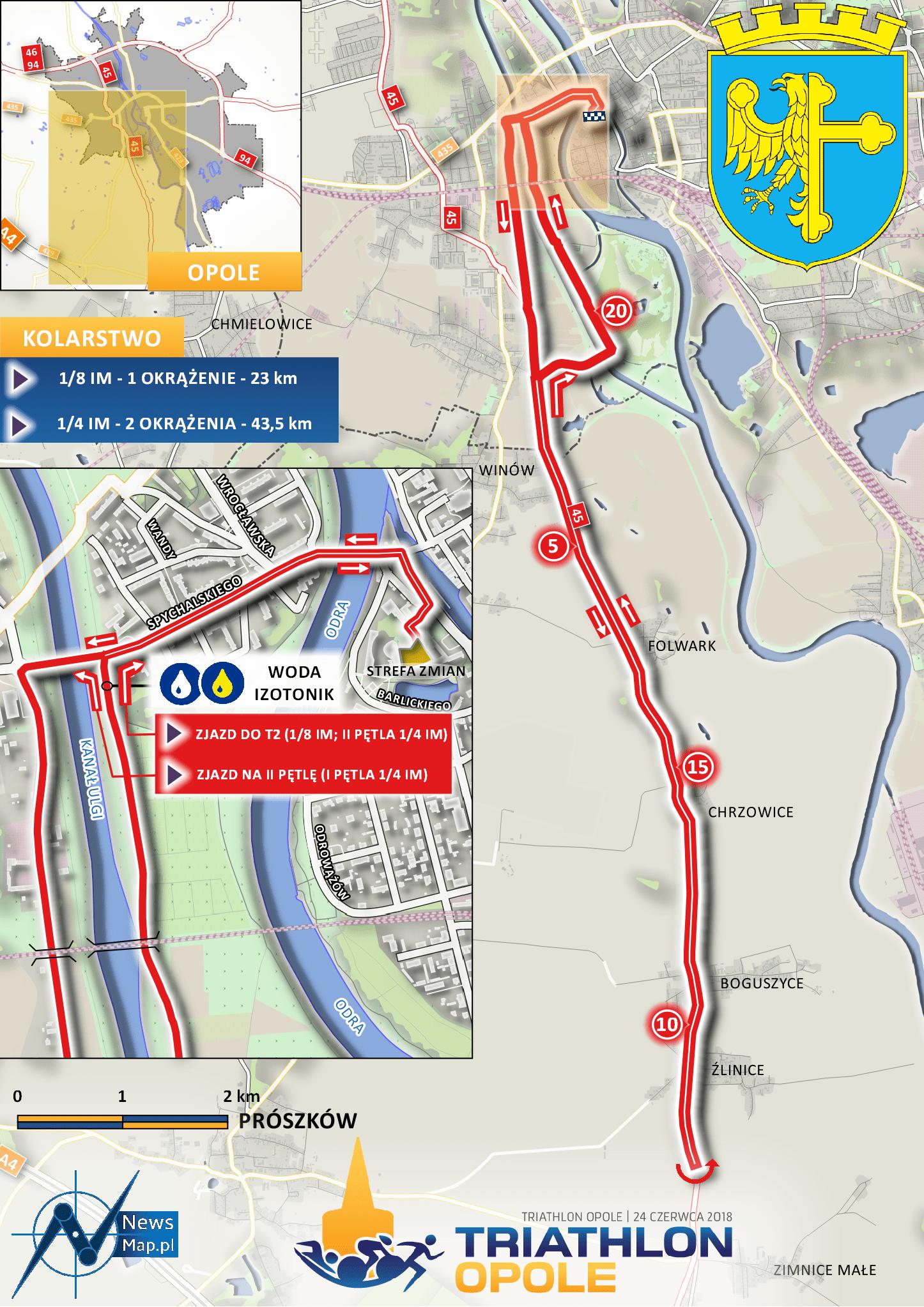 Triathlon Opole 2018 - Rower