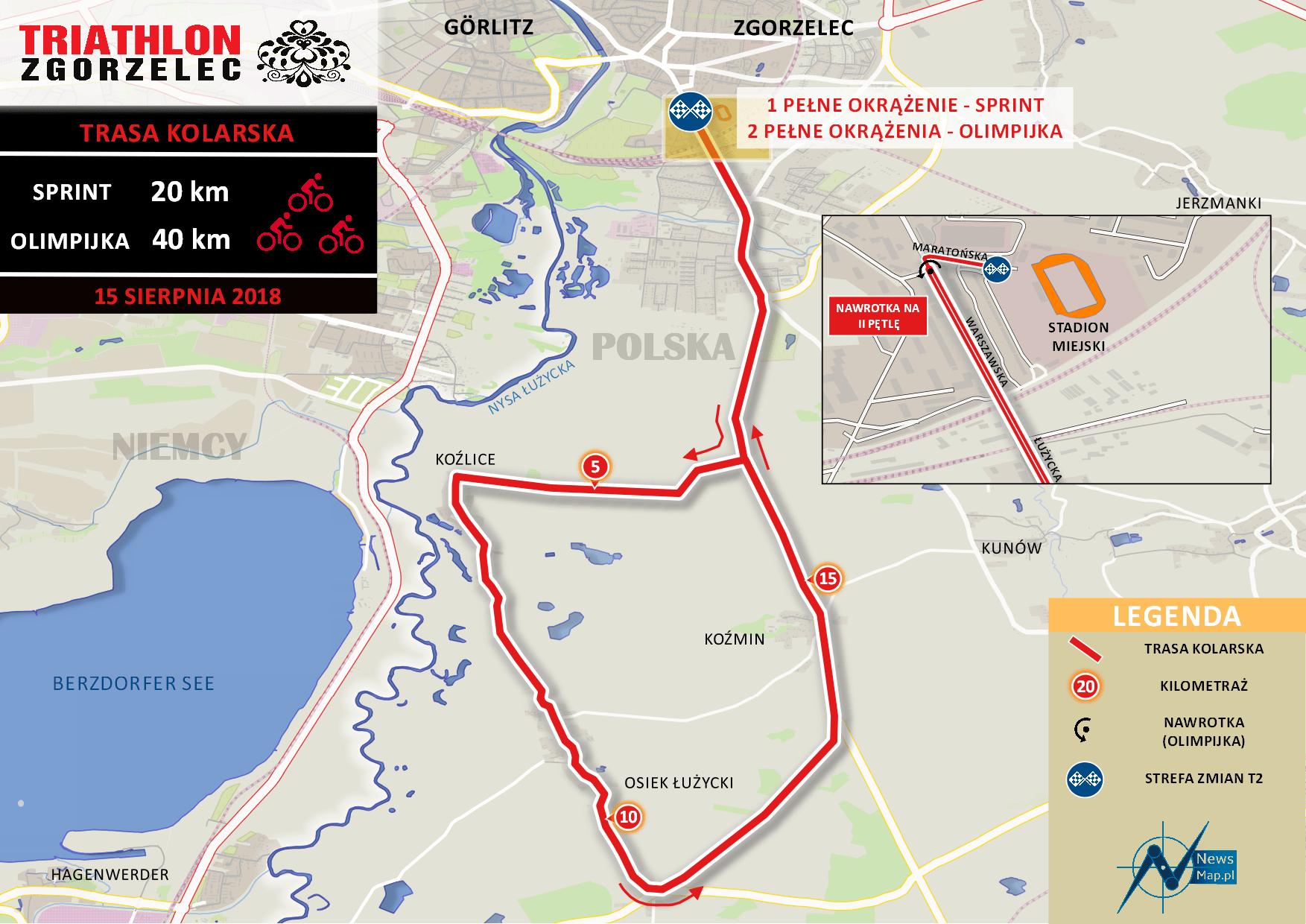 Triathlon Zgorzelec 2018 - rower (mniejsza rozdzielczość - FB)