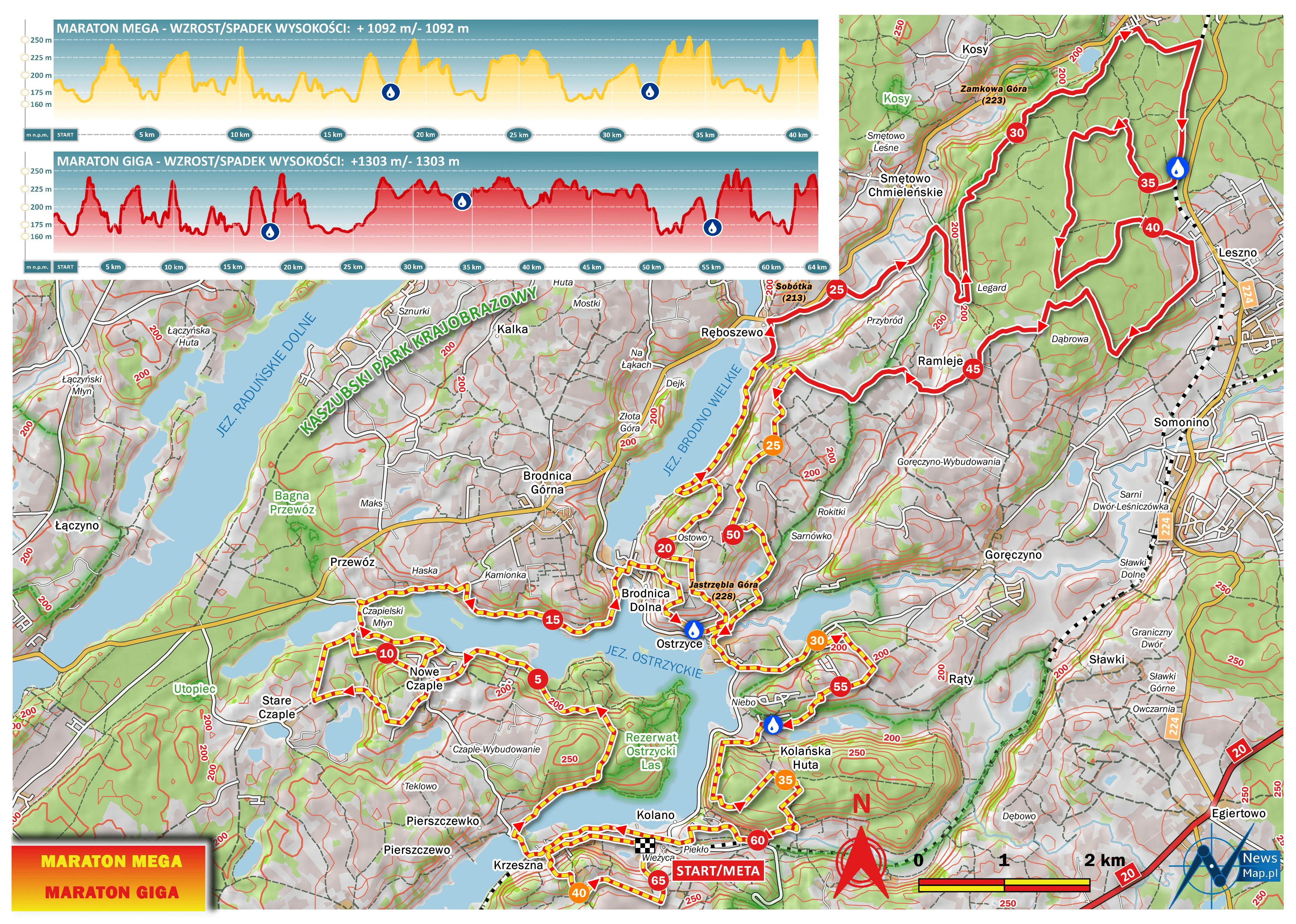 Mapa racebook II etap MTB Energy