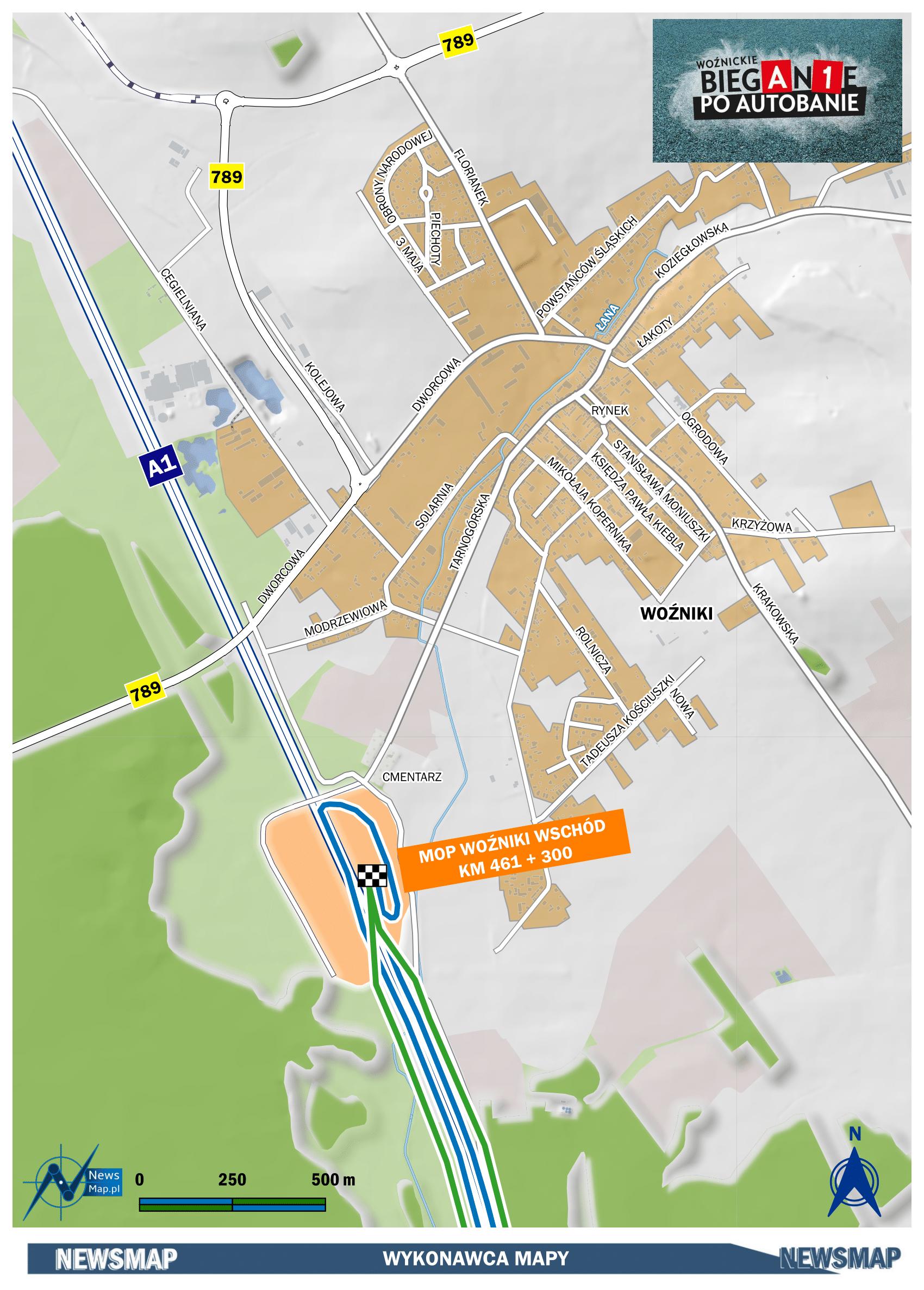 Mapa statyczna - plan sytuacyjny (wektor)-1