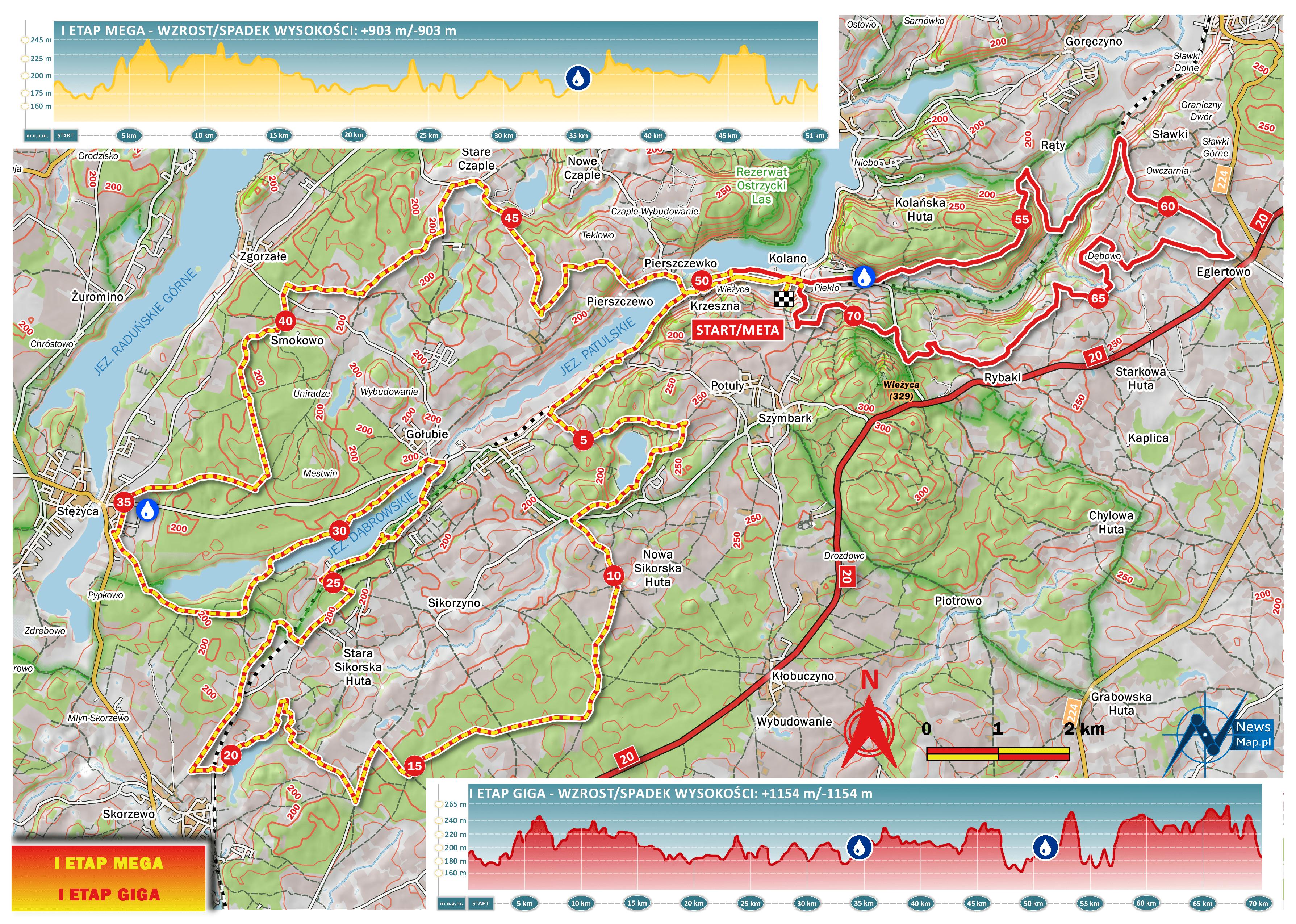 Projekt mapy racebook I etap MTB Energy